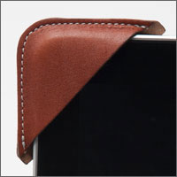 The Pad Strap Cognac Brown
