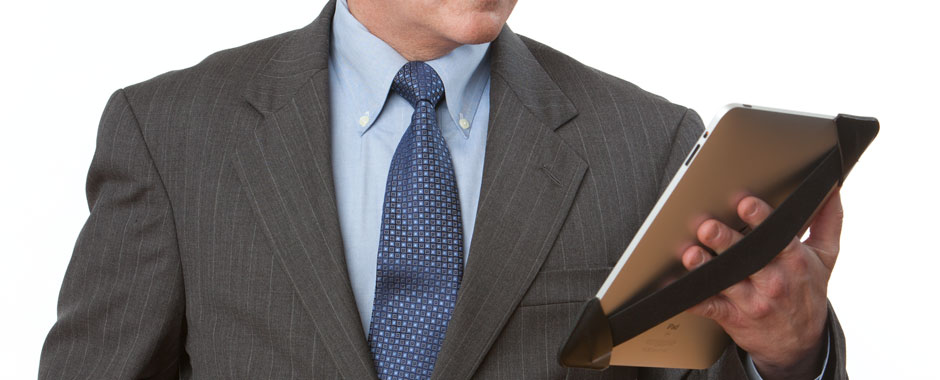 iPad Strap for business presentations